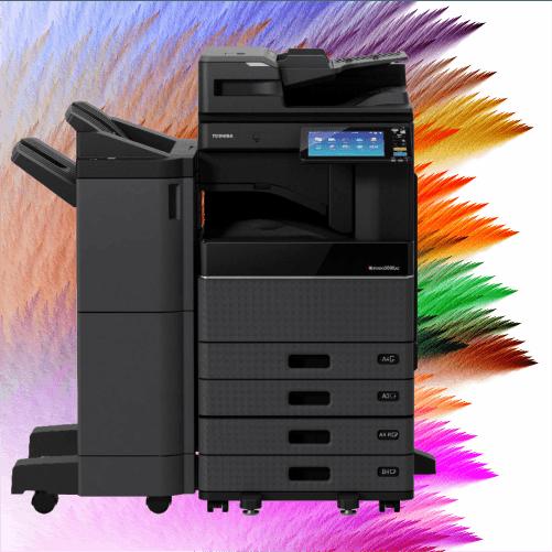 Toshiba copiers and printers